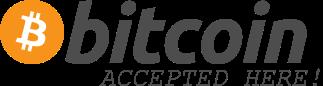 Wir akzeptieren Bitcoin